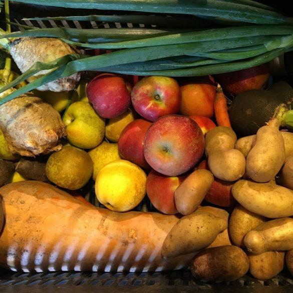 Organic Big Vegetable Box (pc)