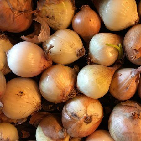 Organic onion (kg)