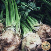 Organic Celeriac (bun)